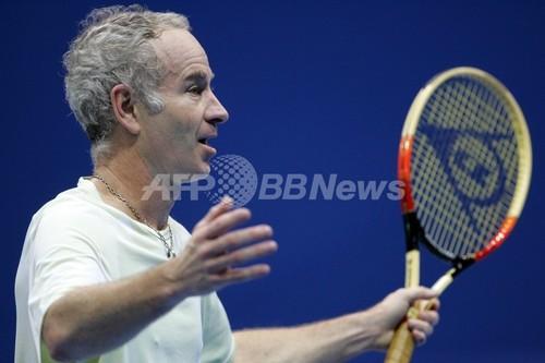 マッケンロー氏 テニス界に侵入するマフィアの存在を懸念