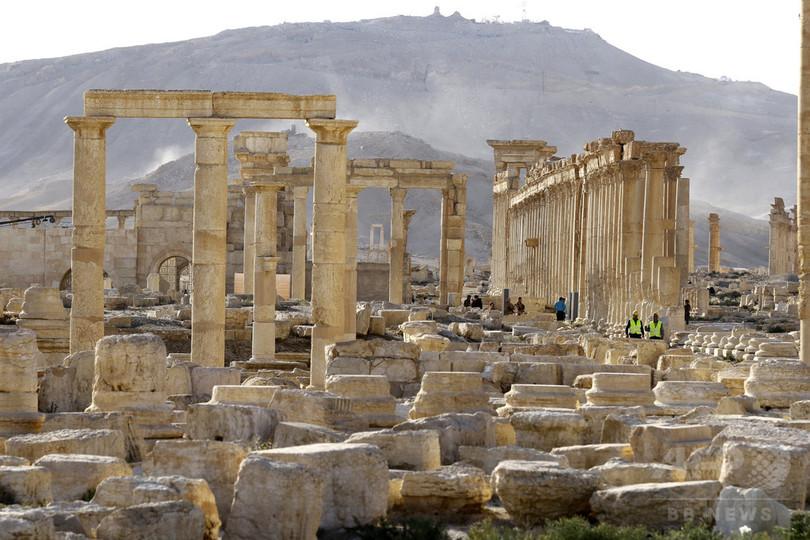 シリア古代都市パルミラ、ISが再び制圧 遺跡破壊の危機