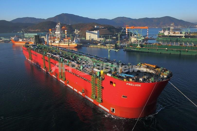 「世界最大の浮遊施設」が進水、エンパイアステートビルより巨大