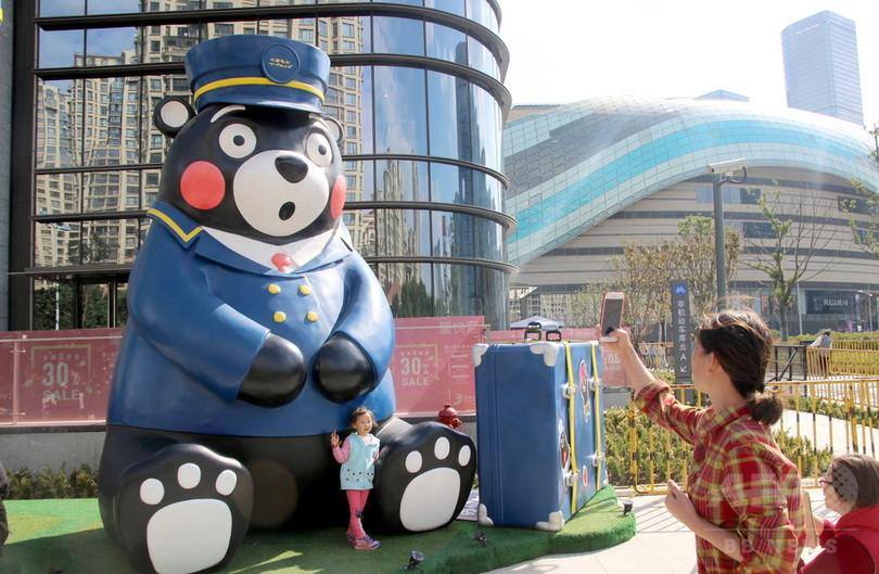 中国・蘇州市でくまモン展