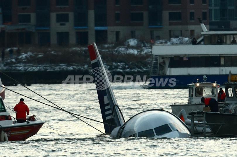 NYハドソン川に旅客機不時着、乗員・乗客に死者はなし