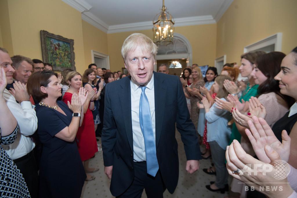 ジョンソン新首相、EU離脱に向け新内閣 閣僚の大半入れ替え