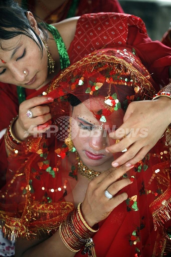 異カースト間の結婚に給付金、差別対策で ネパール