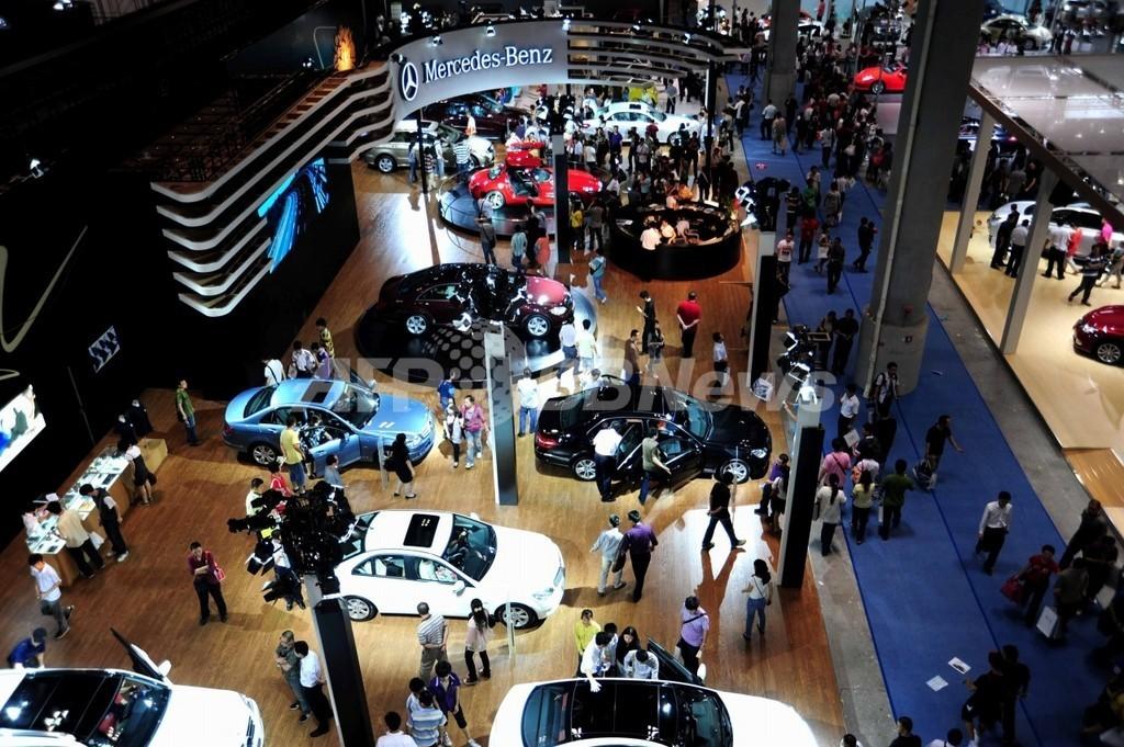 中国の環境車市場計画、進出外国メーカーに脅威