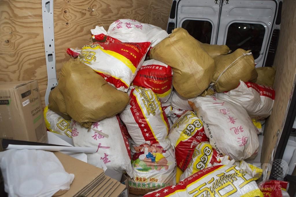 豪で870億円相当の覚せい剤押収 過去最多、中国からか