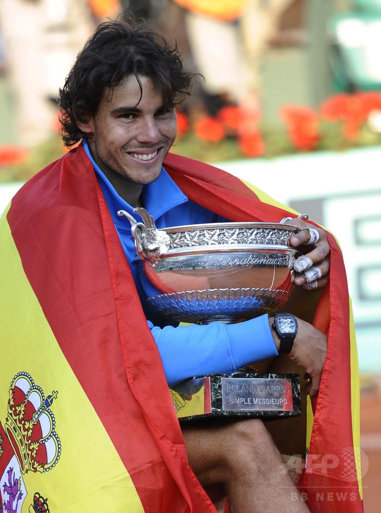 ナダル、リオ五輪でスペイン代表の旗手に