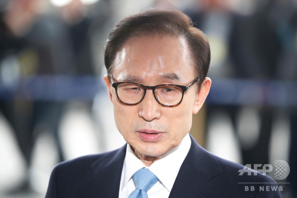 韓国高裁、李明博元大統領の保釈認める