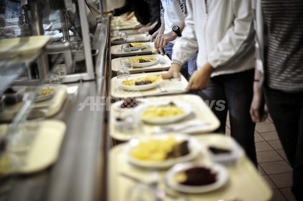 加工くず肉「ピンクスライム」の給食使用は各校が判断へ、米農務省