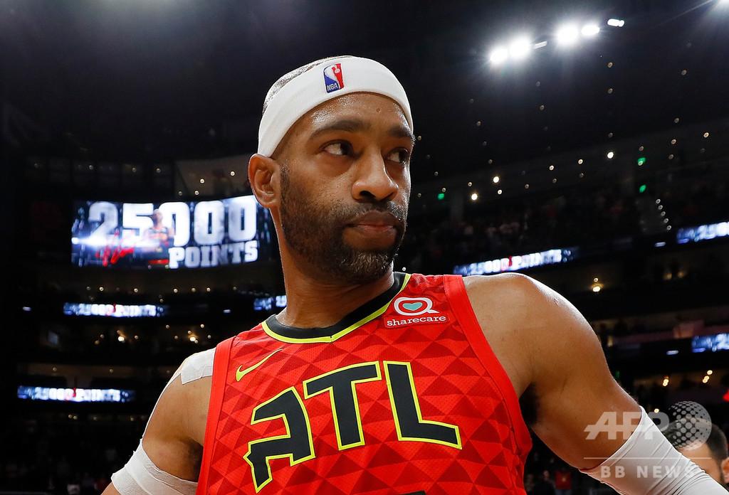 42歳カーター、NBA史上最長22シーズン目へ意欲「戻ってくる」