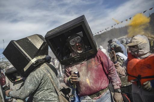 【今日の1枚】ブラウン管テレビならではの活用法? ギリシャ