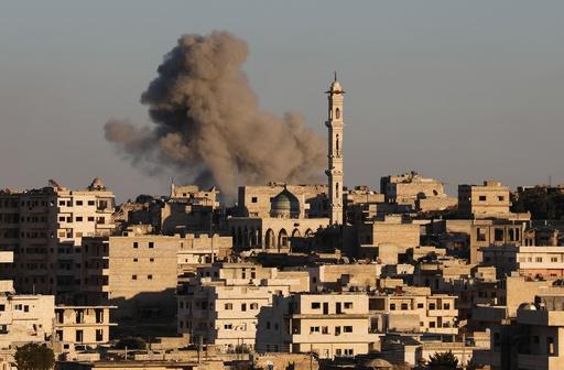 シリア政府軍、北西部の要衝を奪還 激しい攻撃 2日で2万人避難