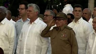 動画:キューバ革命成立から60年 記念式典の映像