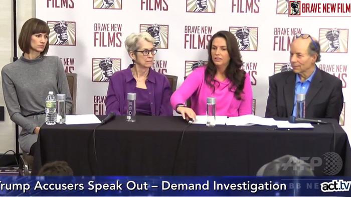 トランプ氏のセクハラ疑惑、3女性が議会に調査要求