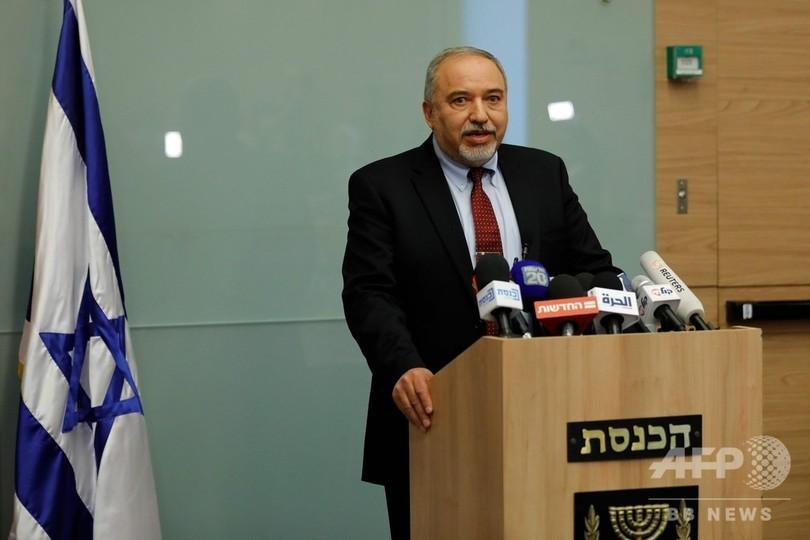 イスラエル国防相が辞任 ガザ停戦に反発