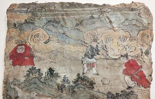 600年前にゴルフ? 元時代の壁画を展示 山西省