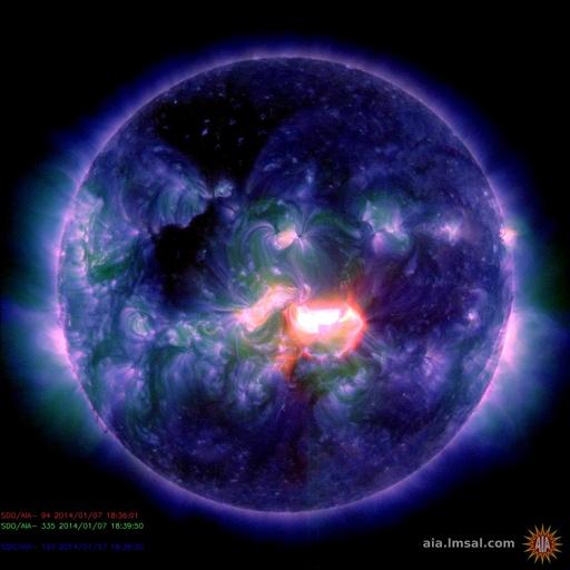 最大クラスの太陽フレアが発生