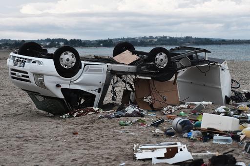観光地で急な嵐、子供2人含む7人死亡 ギリシャ北部