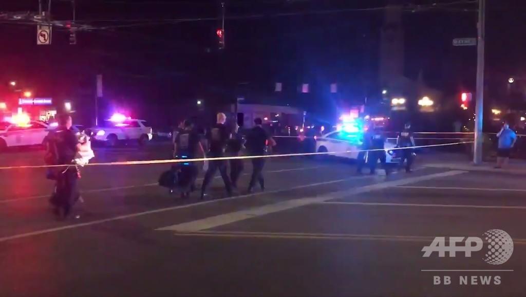 米国でまた銃乱射、容疑者含め10人死亡 オハイオ州デートン