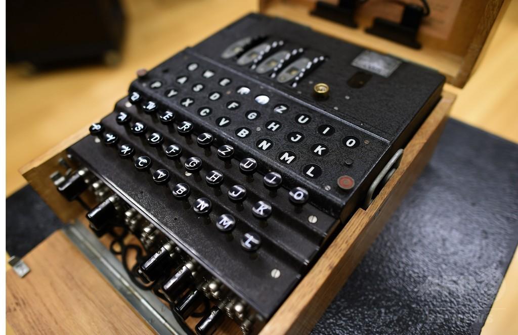 ナチスの暗号機「エニグマ」、過去最高の4400万円で落札