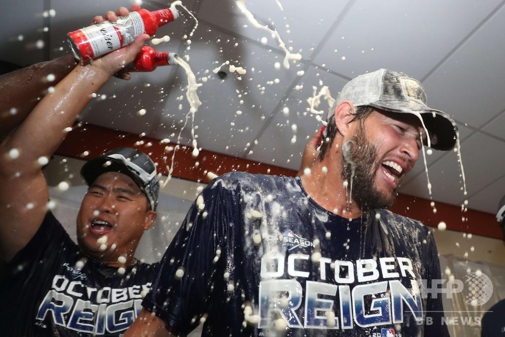 ドジャースがナ・リーグ西地区7連覇、シーガーが2本塁打