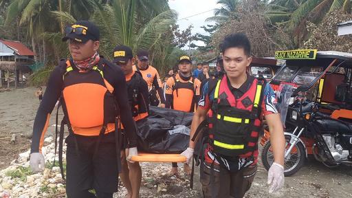 台風直撃のフィリピン、死者28人に 少なくとも12人不明