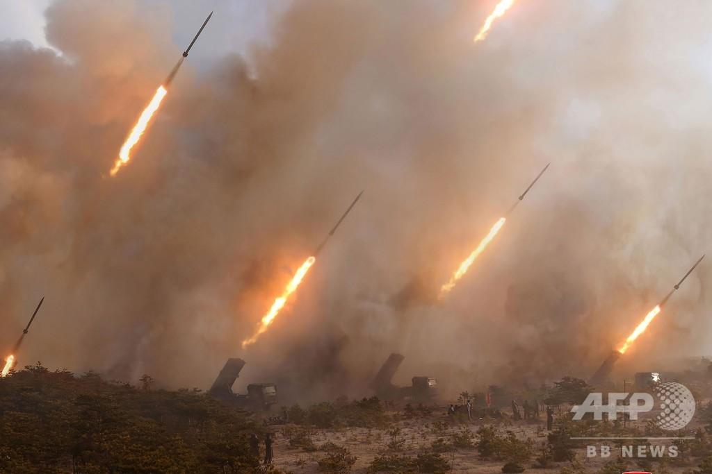 北朝鮮の火力演習は米韓の目を引くため、韓国政府が見解