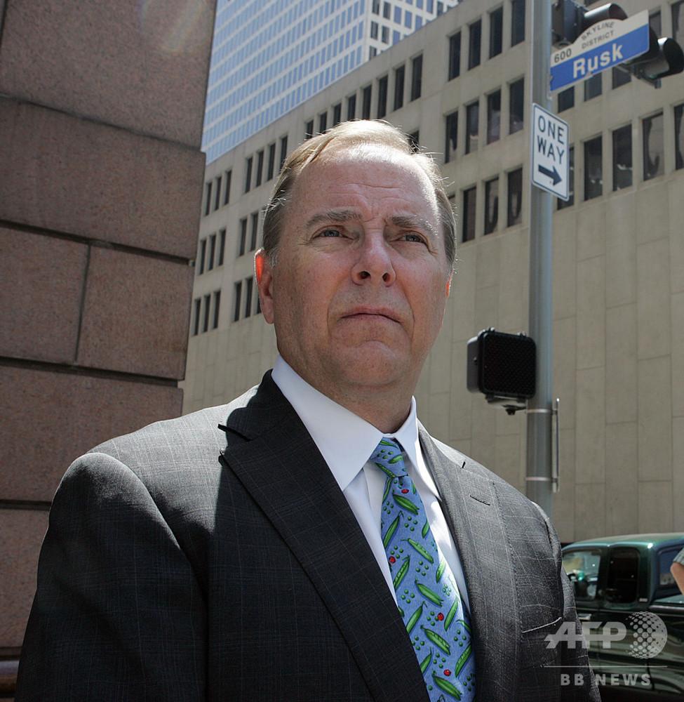 経営破綻した米エンロンの元CEO、12年の刑期終え釈放
