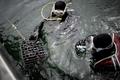 水深60メートルにワイン沈め、品質変化の実験