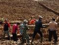 インドネシアで土砂崩れ 5人死亡、15人行方不明