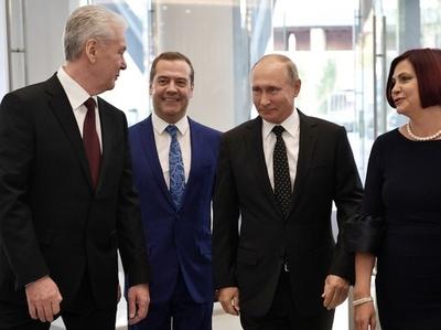 モスクワ市長選、プーチン氏側近の現職が圧勝