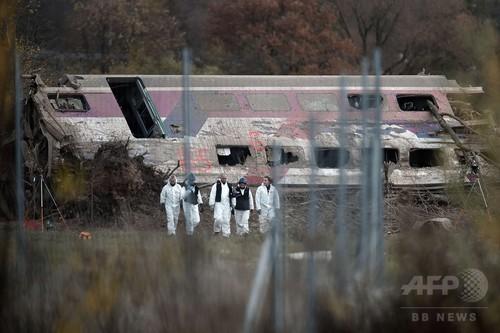 試験走行中の仏TGV脱線事故、複数の子どもが乗車
