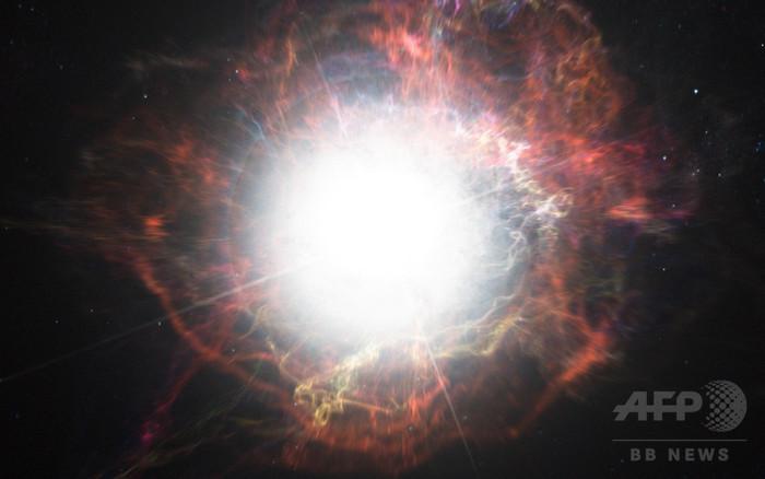 太陽の5700億倍、観測史上最も明るい「超新星爆発」