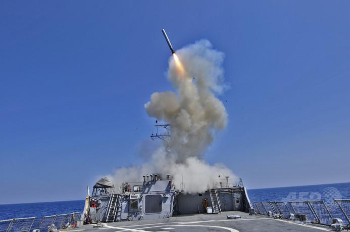 米軍、シリアでイスラム国への空爆を開始 「友好国」も参加