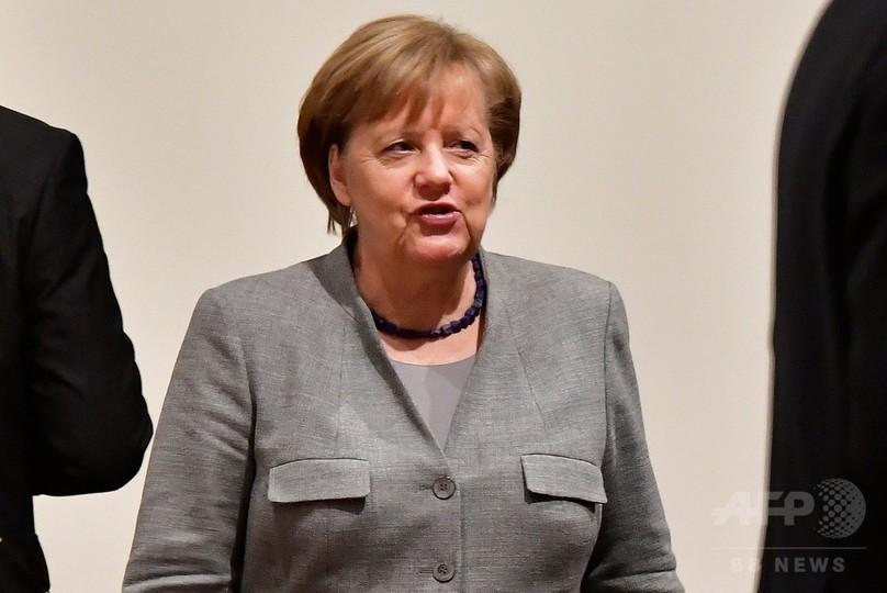 ドイツ連立協議が決裂、メルケル首相試練 「降板」予想6割