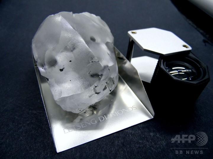史上5番目に大きいダイヤ発見、910カラット アフリカ南部