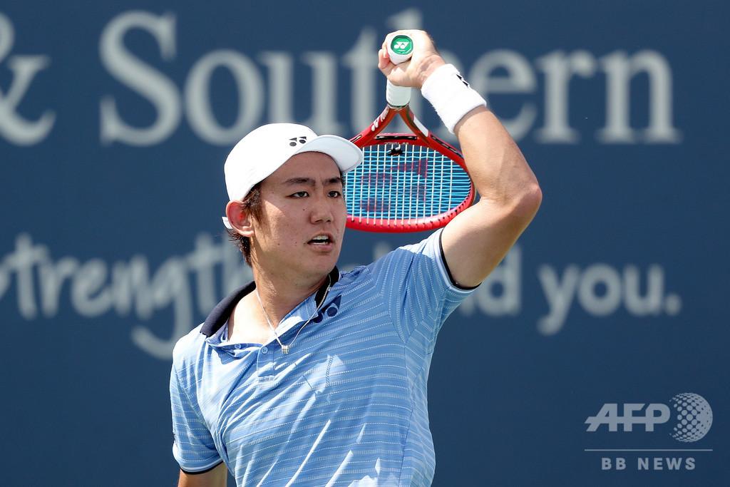 西岡、体調不良でW&Sオープン準々決勝を棄権