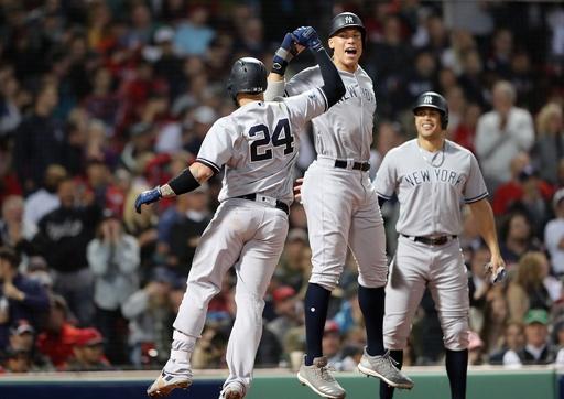 ヤンキース快勝で戦績をタイに、アストロズは優勝決定Sに王手