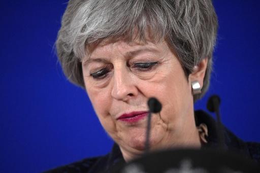 メイ氏の失脚目前か、首相おろしの動きを英紙が報道