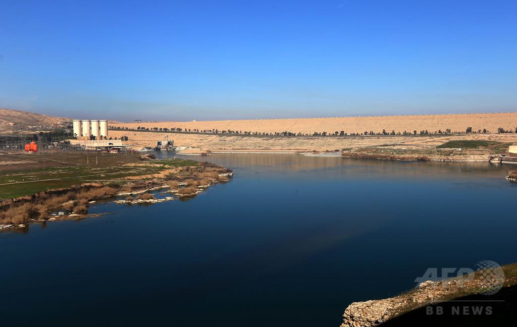 イラク最大のダムに決壊の恐れ、米が最大150万人に避難勧告