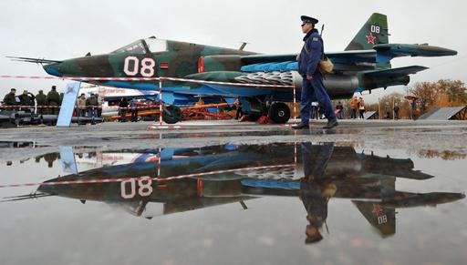 イラク、露から購入のスホイ25攻撃機を受領