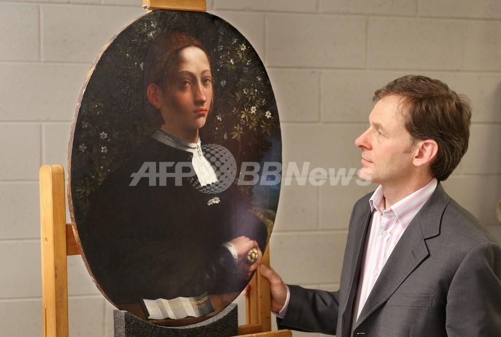 謎の肖像画、モデルはチェーザレ・ボルジアの妹と判明