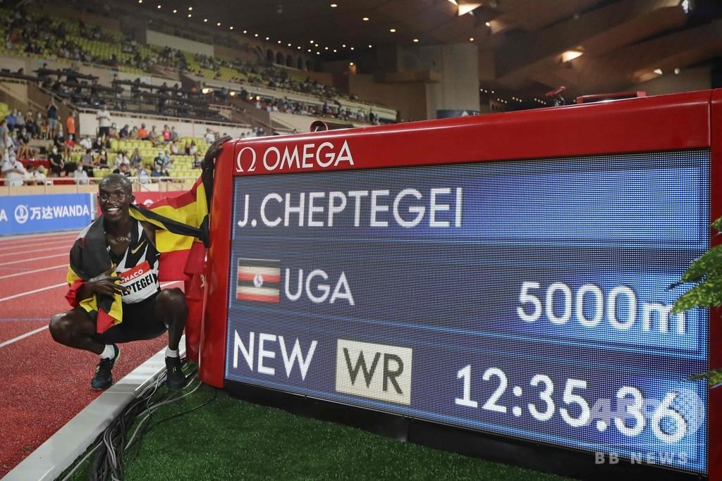 チェプテゲイが男子5000mで16年ぶり世界新、ダイヤモンドリーグ
