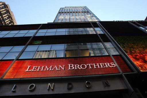 米リーマン株40%以上急落、15日に売却発表か