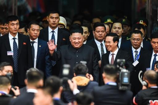金正恩氏がベトナム入り あすから米朝首脳会談