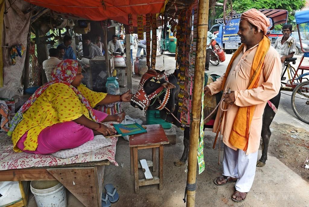牛運んでいたイスラム教徒2人、リンチされ死亡 インド