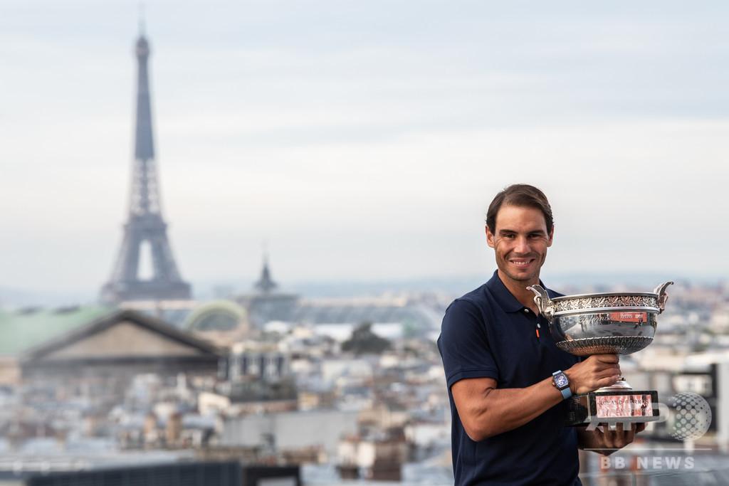 「重要なのは勝利」 全仏無双のナダル、AFPインタビュー