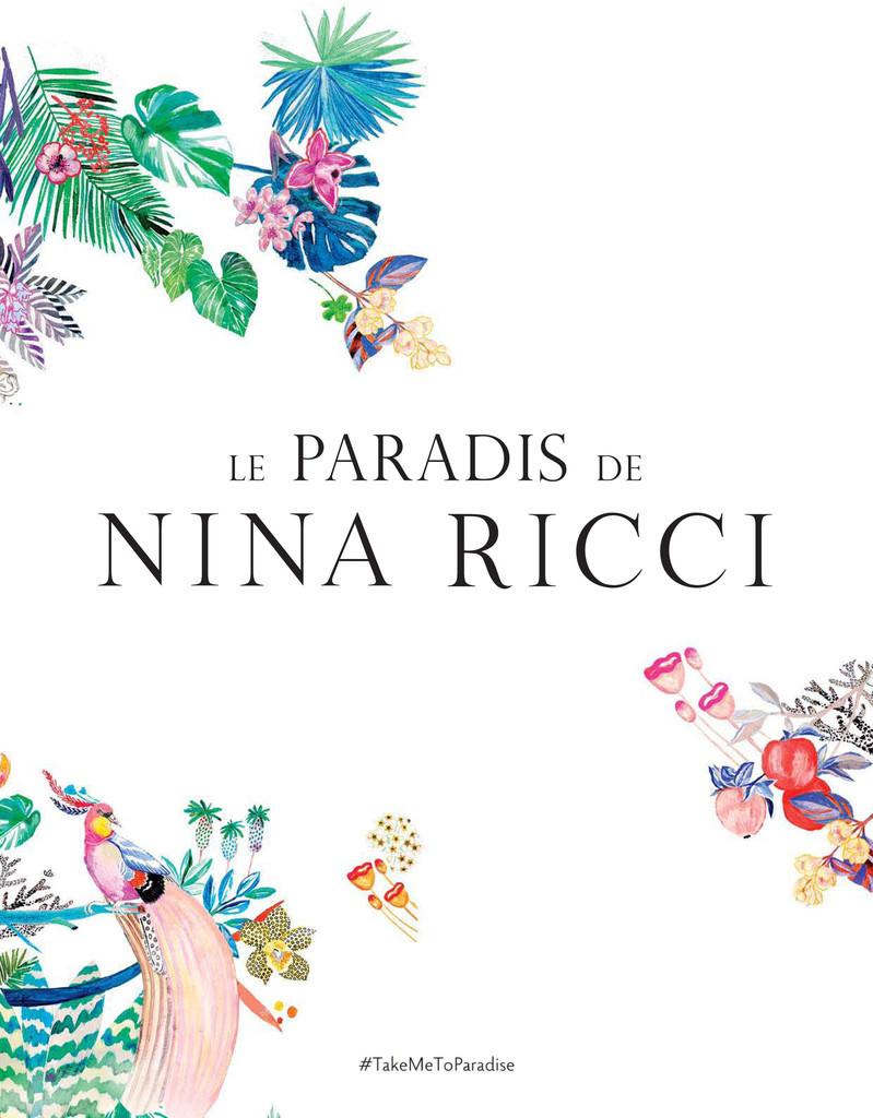 パラダイスから着想した2つの香り、限定フレグランス「ル パラディ ドゥ ニナ リッチ」