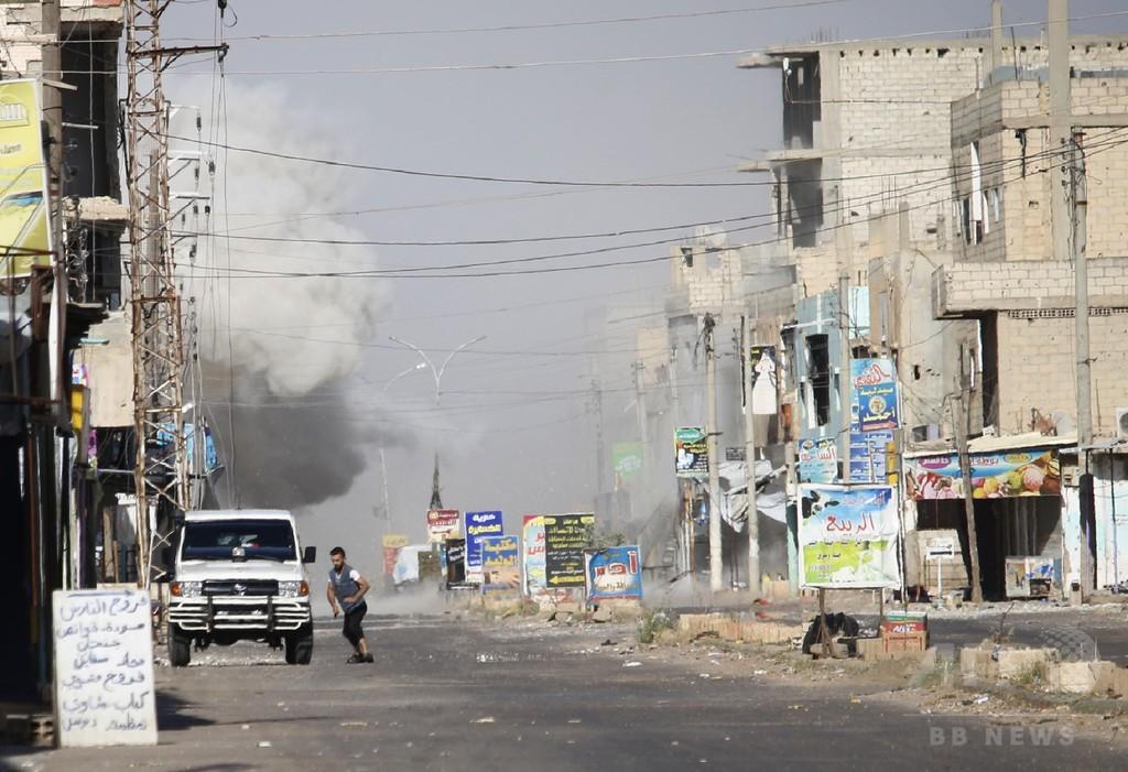 ロシア軍、シリア南部の停戦地域で空爆 監視団発表