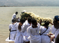 大地震の犠牲者悼むブードゥー教の儀式、ハイチ