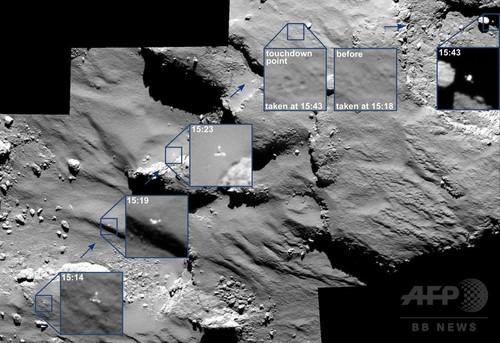 彗星着陸機フィラエの「着地音」公開